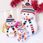 Cheap Fashion Snowman Shaped Cotton Christmas Decoration Gift